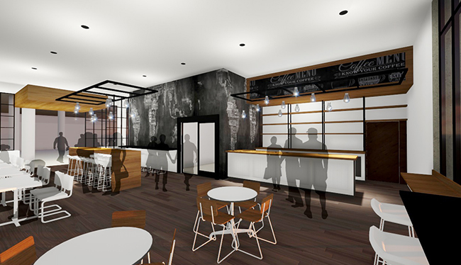 church design, cafe, third places, coffee